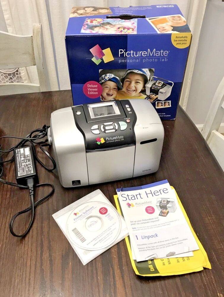 Epson Picturemate Deluxe Viewer Edition Personal