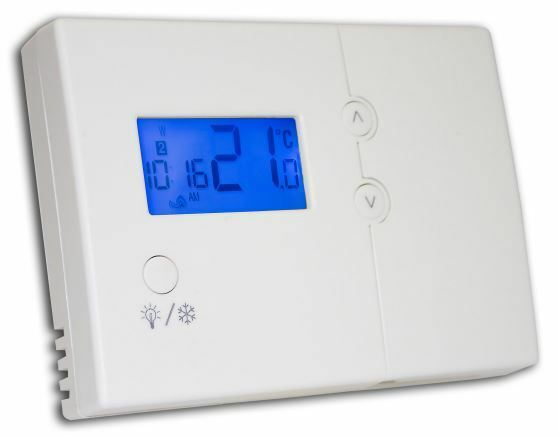 Central Heating Boiler Programmable Room Thermostat Hard