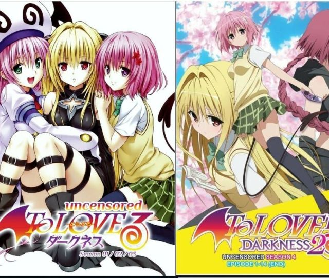 Details About Dvd To Love Ru Season 1 4 Uncensored Version English Subtitle Japanese Anime