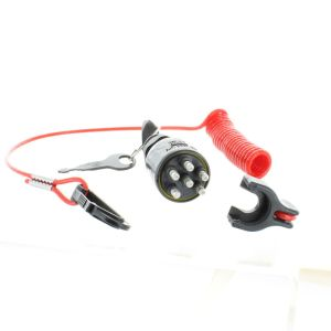 EvinrudeJohnsonBRP New OEM Ignition Key Switch & Safety