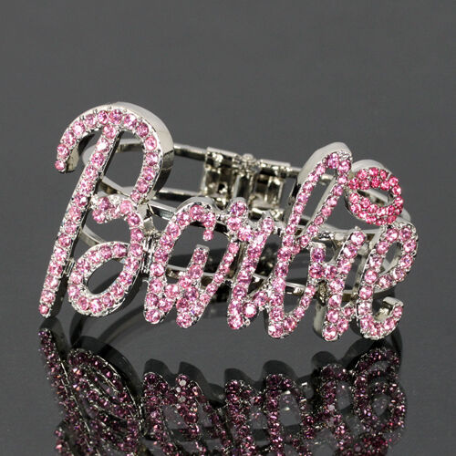 Iced Out NICKI MINAJ BARBIE Bangle Bracelet EBay