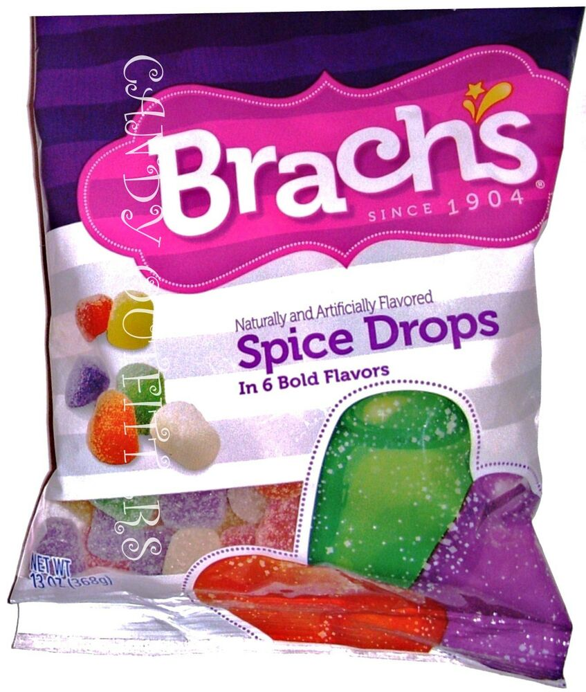 SPICE DROPS BRACHS CANDY CLASSIC CANDIES Old