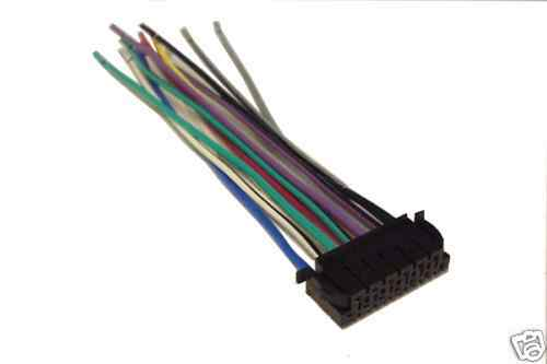 Jvc Wiring Harness Car Stereo 13 Pin Wire Connector