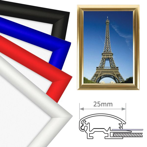 A4 Snap Frames Picture Poster Holders Clip Displays Retail ...