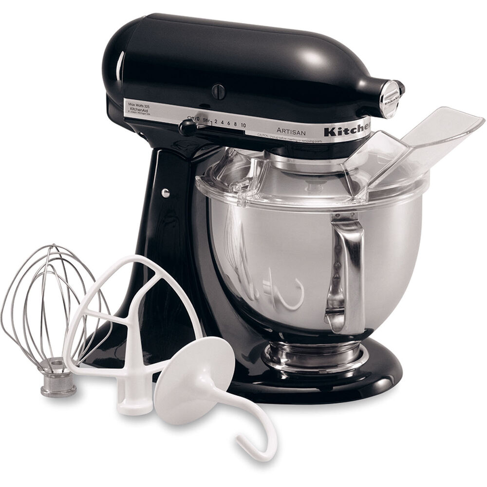 KitchenAid Onyx Black Artisan 5 Quart Tilt Head Stand