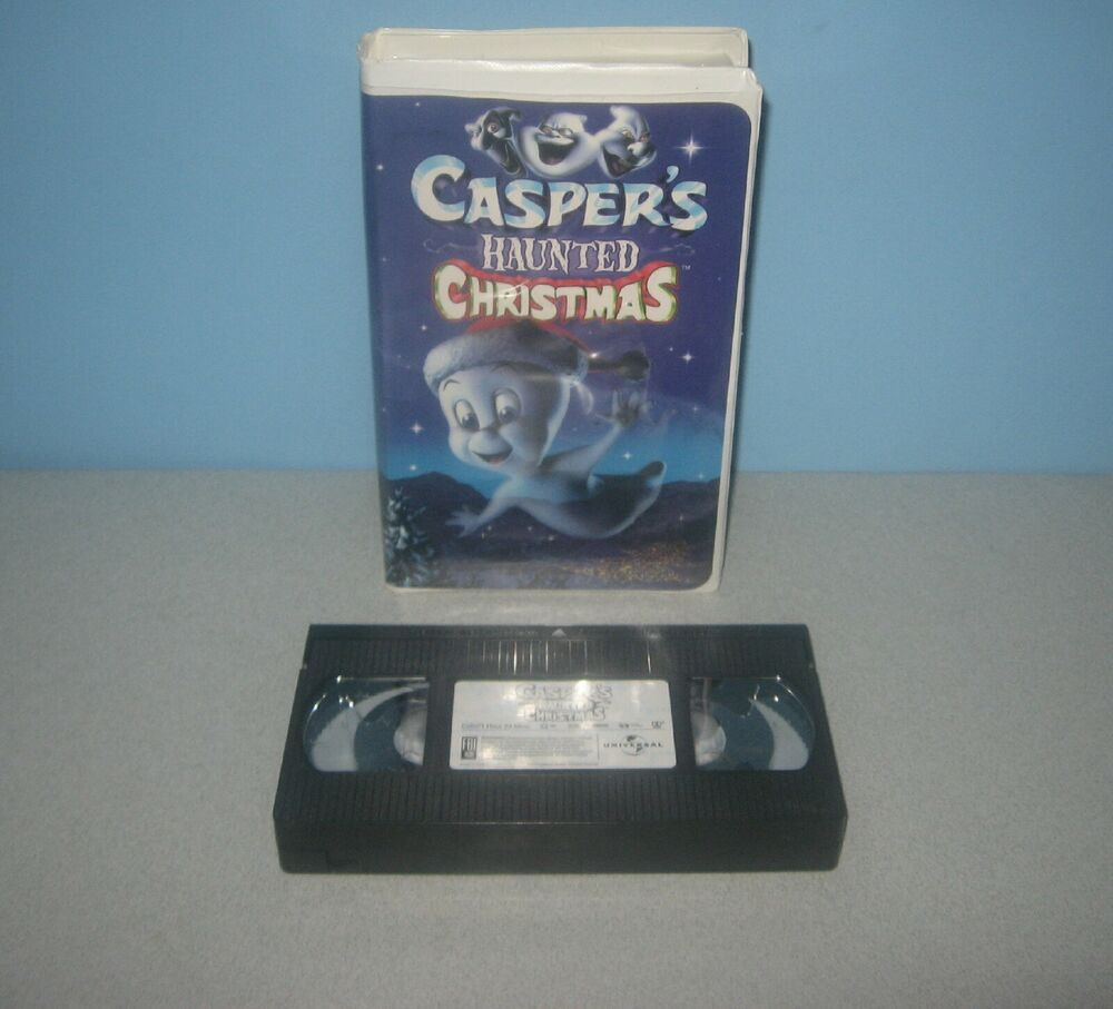 Harvey Universal Caspers Ghost Haunted Christmas VHS
