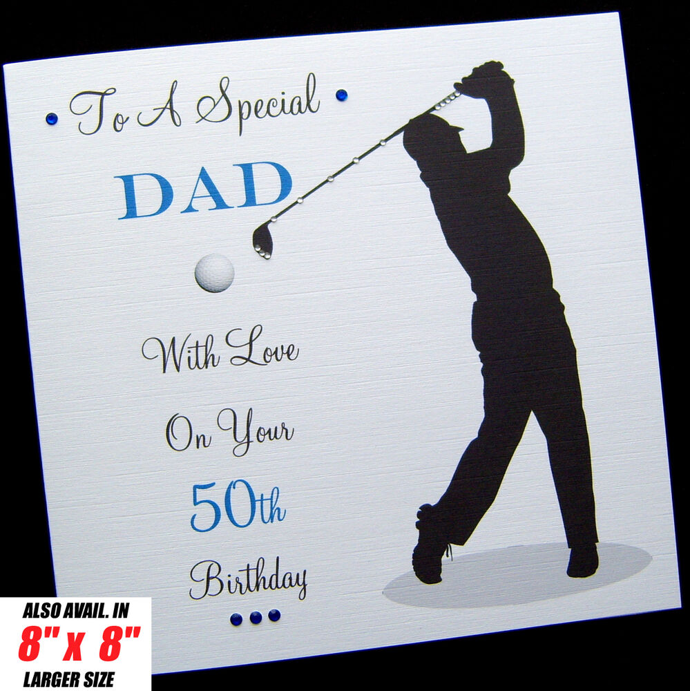 Personalised GOLF Birthday Card Dad Brother Son Husband Uncle Brother In Law EBay