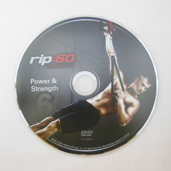 rip:60 Power & Strength Workout DVD Exercise rip 60 ...