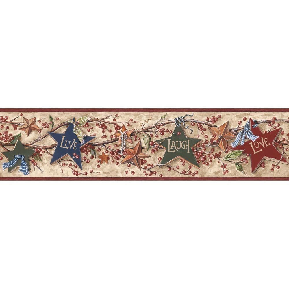 LIVE LAUGH AND LOVE COUNTRY Wallpaper Border BY YORK EBay