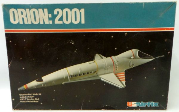 2001 A SPACE ODYSSEY ORION SPACECRAFT USAIRFIX MODEL KIT