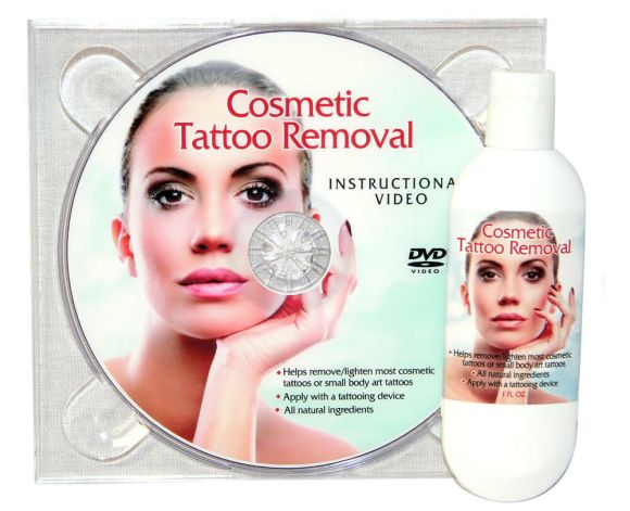 Tattoo Removal Cream Natural Permanent Makeup with DVD ...