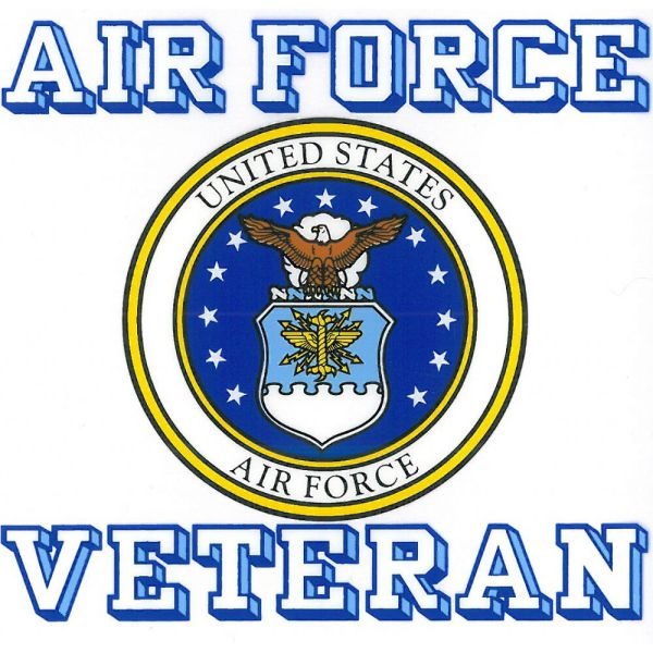 US Air Force Veteran With USAF Seal Car Decal | eBay