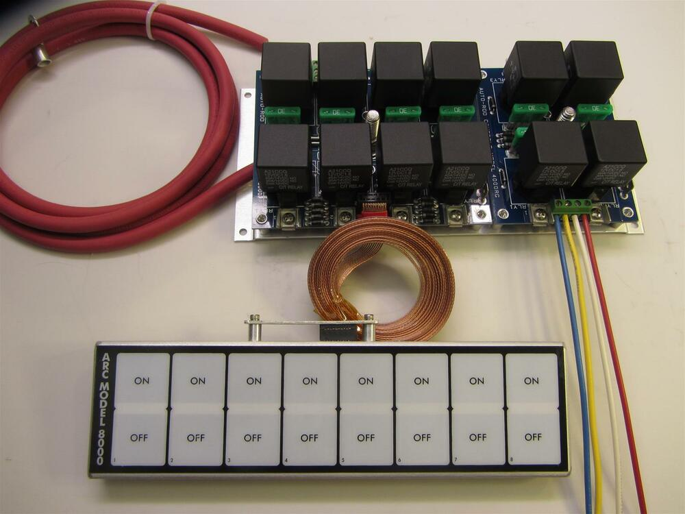 ARC Flat Touch Switch Panel 8000D