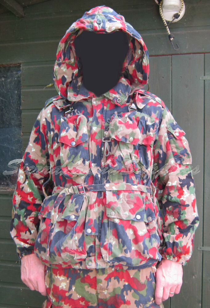 SWISS ARMY SURPLUS ISSUE ALPENFLAGESNIPER SMOCK6 COLOUR