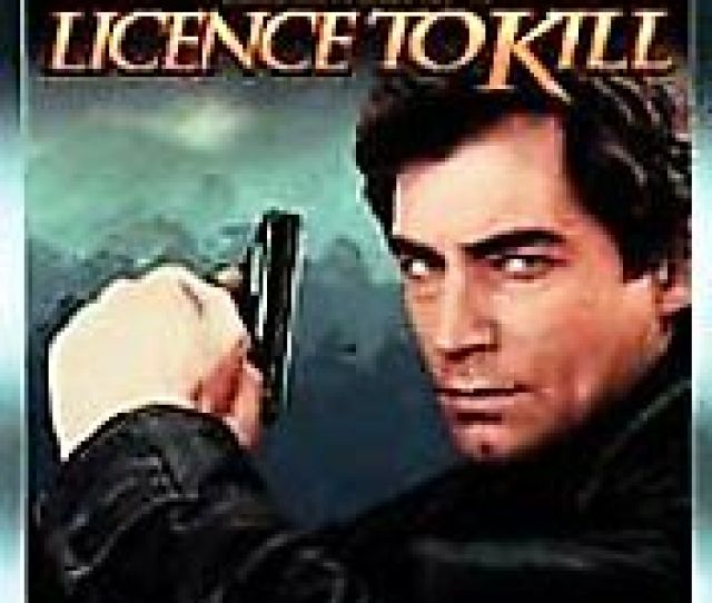 Image Is Loading Licence To Kill Dvd 007 James Bond Timothy