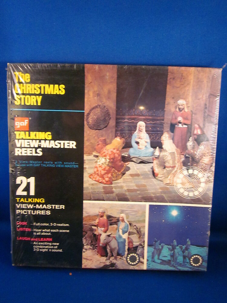 Talking View Master GAF The Christmas Story Sealed EBay