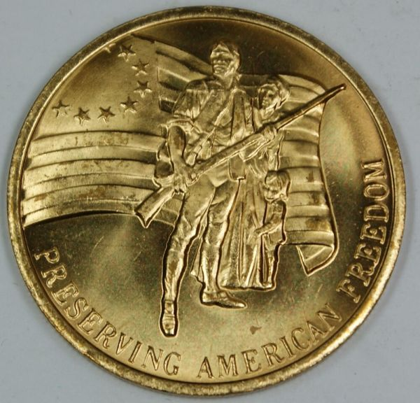 Preserving American Freedom Bronze Medal- Honoring The ...