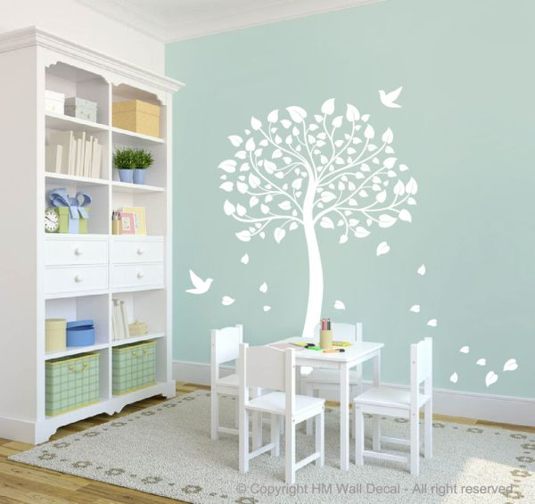 COT SIDE TREE FOR Nursery or Kids room DIY Removable wall ...