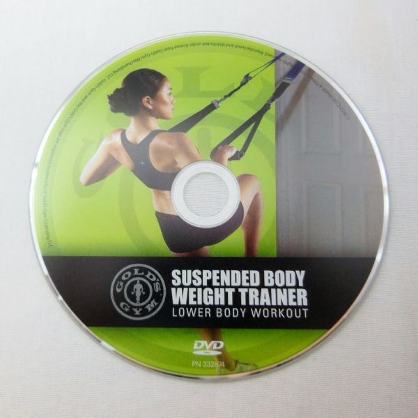GOLD'S GYM Suspension Body Weight Trainer Lower Body ...