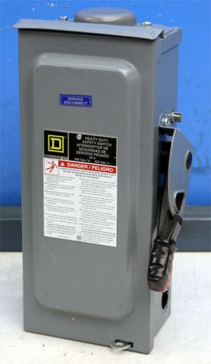 Square D H361RB 30 Amp Fusible Safety Switch Disconnect | eBay