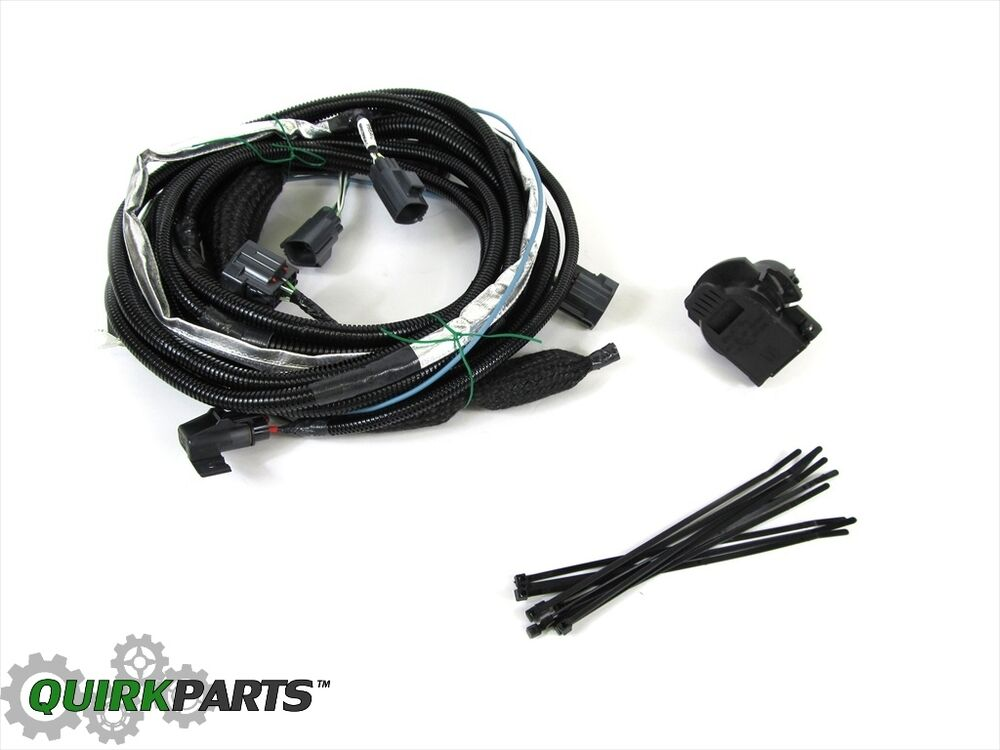 Jeep Liberty Dodge Nitro TOW WIRING HARNESS FOR TRAILER