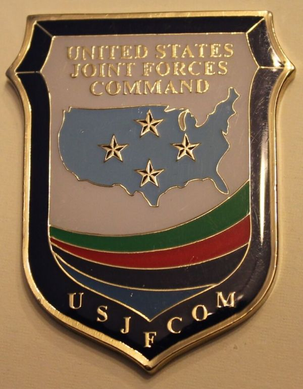 United States Joint Force Command Challenge Coin   eBay