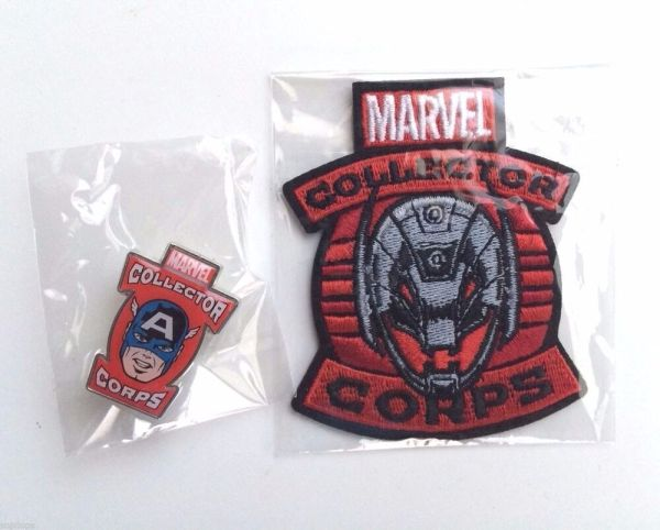 Funko Marvel Collector Corps Captain America Pin And ...