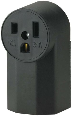 New Cooper Wiring Devices WD1252 50Amp 125Volt Power