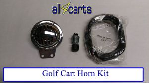 Golf Cart Horn Kit | Club Car | Yamaha | Ezgo | 12 volt