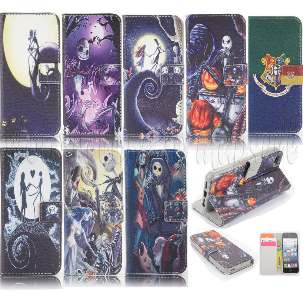 The Nightmare Before Christmas Wallet Leather Case For