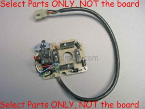 Replacement Parts for Joystick BOARD for Fisher Western