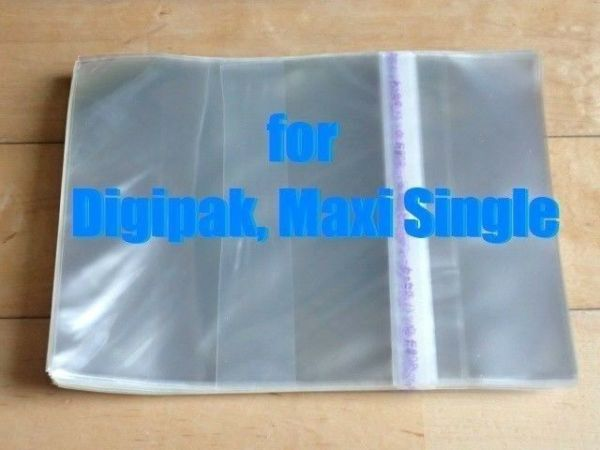 Resealable Outer Plastic Sleeves for CD DIGIPAK, MAXI ...