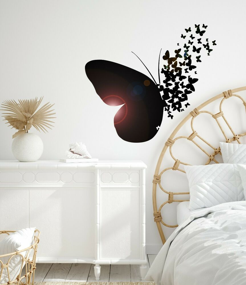 Vinyl Wall Decal Butterfly Home Room Decoration Mural ... on Room Decor Stickers id=99768