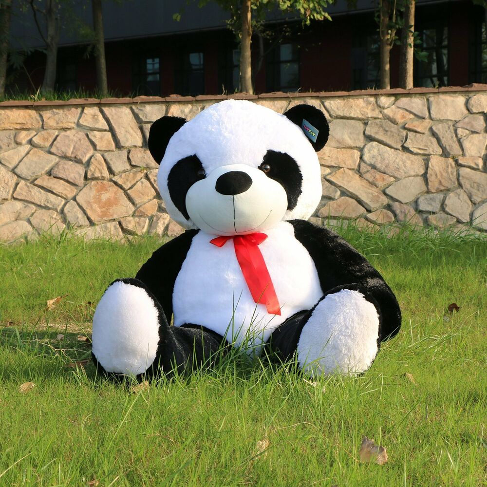 Giant Huge Big 63 Panda Bear Stuffed Plush Animal Toy