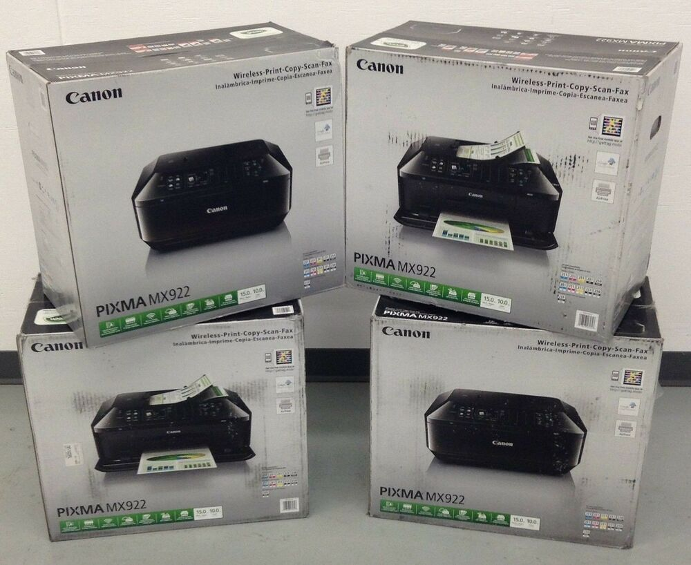 Brand New Canon Pixma Mx922 All In One Inkjet Printer