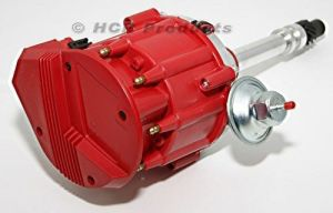 SBC Chevy Performance HEI Distributor Red Cap Super Coil