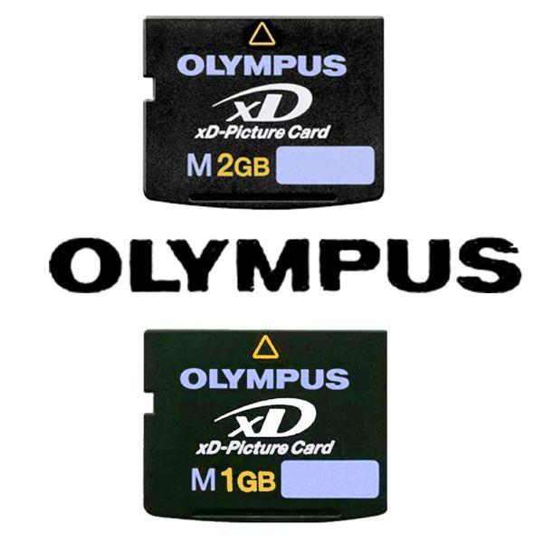 Olympus XD-Picture Memory Card Type M 1GB 2GB for Digital ...