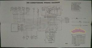 JAGUAR XJ6 AIR CONDITIONING ELECTRICAL WIRING DIAGRAM SHOP