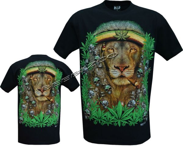 New Lion Of Judah Rasta Rastafari Reggae Bob Marley T ...