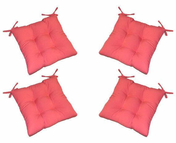 Indoor / Outdoor Tufted Chair Seat Cushions Hot