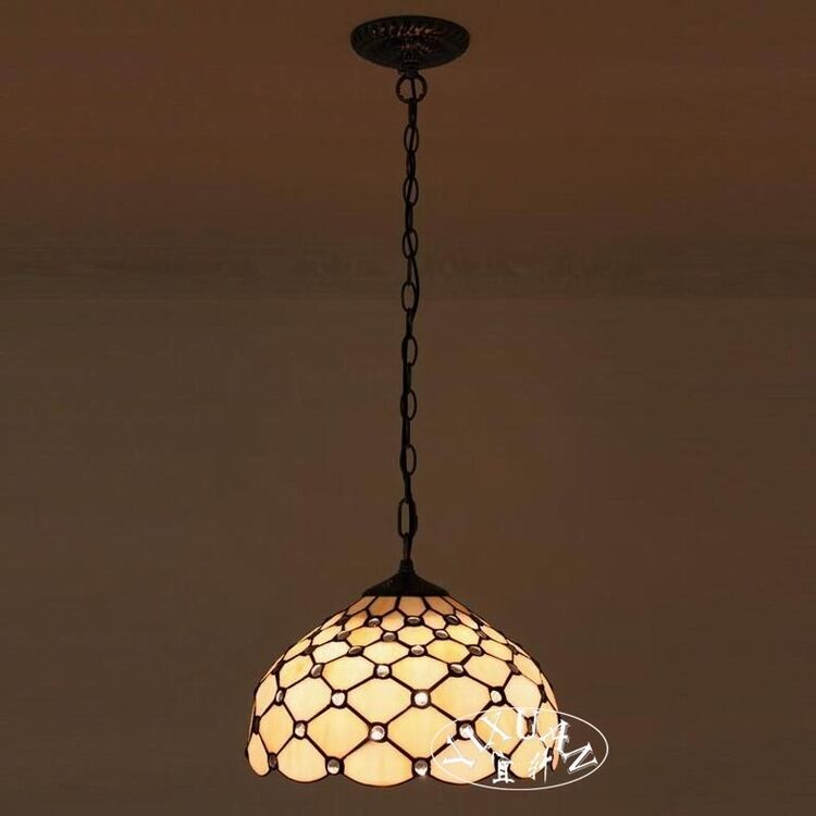 Tiffany Style Spotted Stained Glass Pendant Ceiling Lamp Indoors Chandelier New EBay