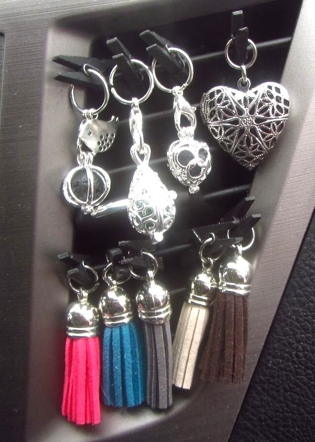 Clip On Car Air Vent Aromatherapy Essential Oil Diffusers
