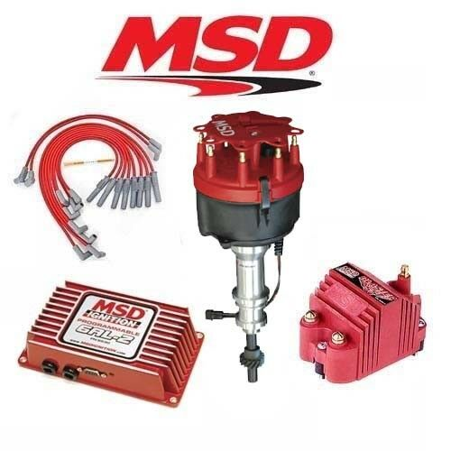Msd Ignition Kit Programmable 6al 2 Distributor Wires Coil