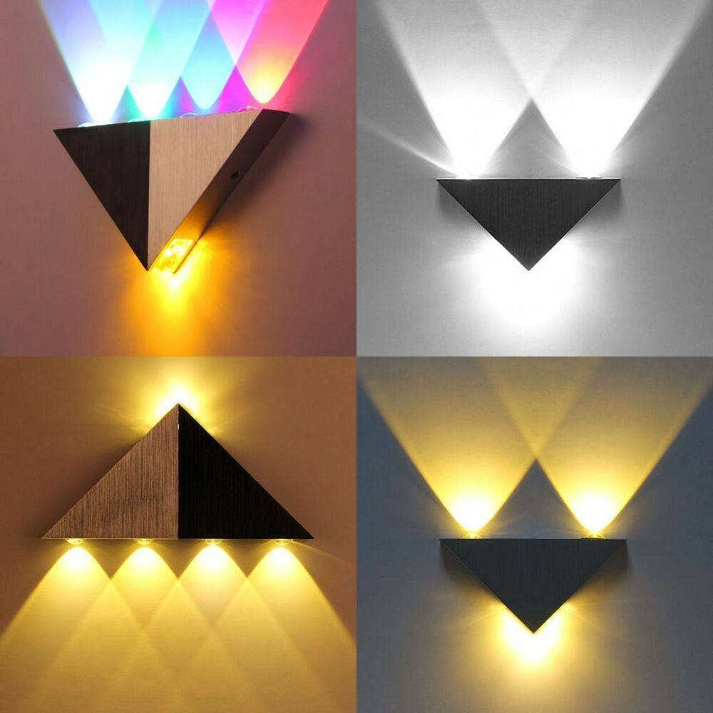 Modern 3W/5W Wall Light Up Down LED Sconce Lighting Lamp ... on Contemporary Wall Sconces Lighting id=20724