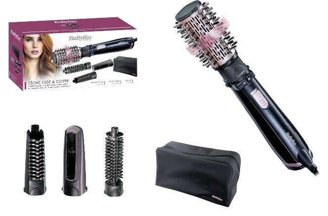 Babyliss AS 200 Rotating Brush 4 Attachments Brand New In
