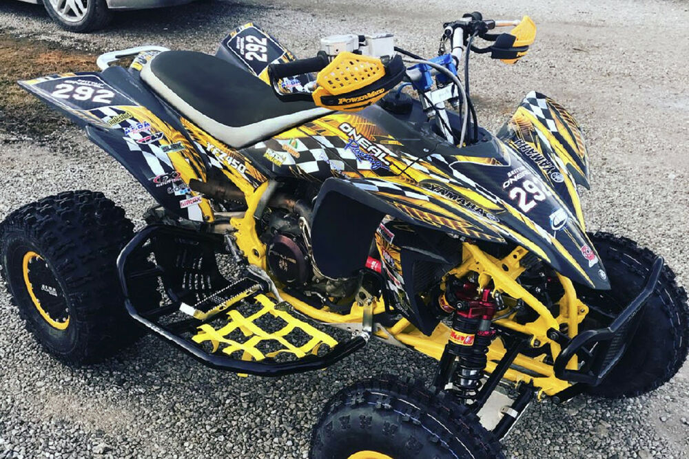 Yfz 450 Graphics Kit Atv