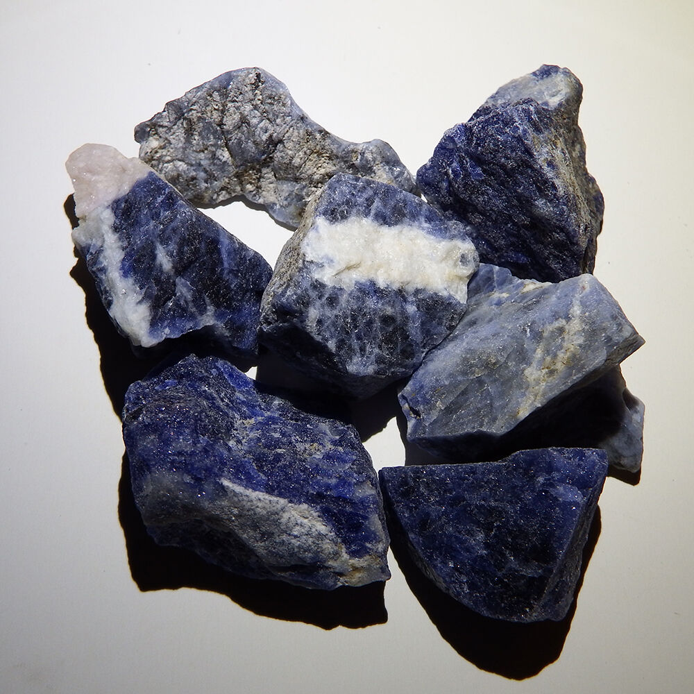 Sodalite 1 Natural Raw Rough Healing Root Jewelry