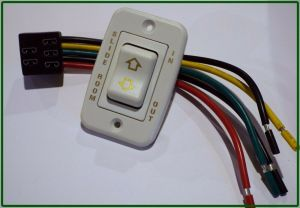 RV SLIDE ROOM SWITCH IN  OUT WITH WIRE HARNESS, 5 PRONGS