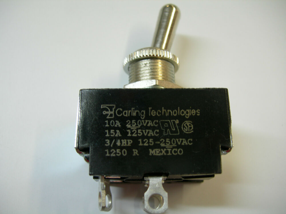Carling Technologies Toggle Switch 125