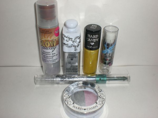 Hard Candy Eye Lip Face Nail Makeup Lot of 6 Different ...